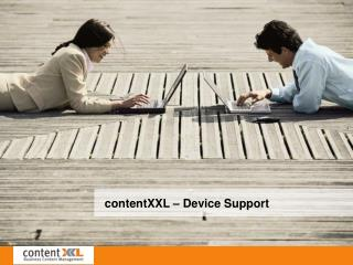 contentXXL – Device Support