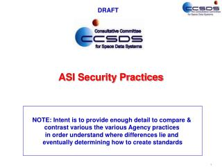 ASI Security Practices