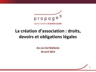 La création d'association : droits, devoirs et obligations légales
