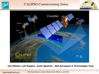 CALIPSO Commissioning Status