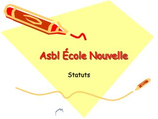 Asbl École Nouvelle