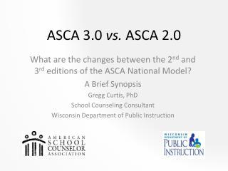ASCA 3.0  vs.  ASCA 2.0