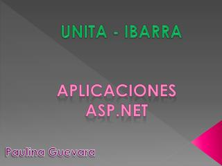 UNITA - IBARRA