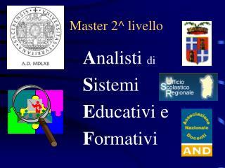 Master 2^ livello