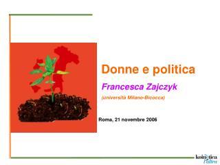 Roma, 21 novembre 2006