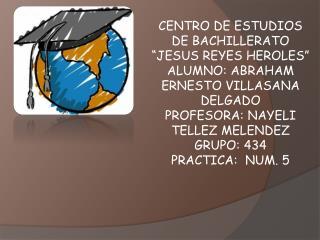 """CENTRO DE ESTUDIOS DE BACHILLERATO """"JESUS REYES HEROLES"""""""