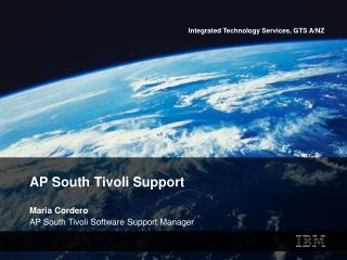 AP South Tivoli Support