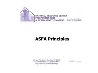 ASFA Principles