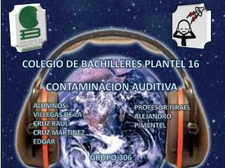 COLEGIO DE BACHILLERES PLANTEL 16