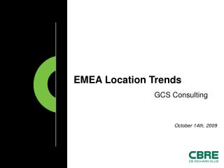 EMEA Location Trends
