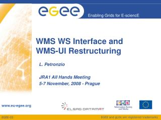 WMS WS Interface and  WMS-UI Restructuring
