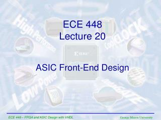 ASIC Front-End Design