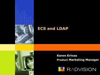 ECS and LDAP