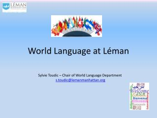 World  Language at  Léman
