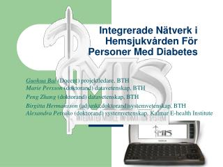 Integrerade Nätverk i Hemsjukvården För  Personer Med Diabetes