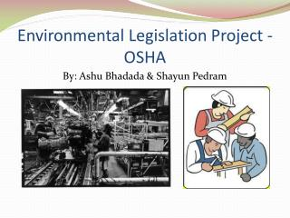 Environmental Legislation Project - OSHA