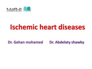 Ischemic heart diseases