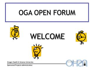 OGA OPEN FORUM