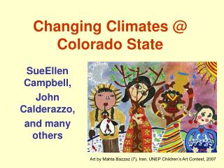 Changing Climates @ Colorado State