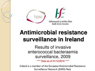 Antimicrobial resistance surveillance in Ireland