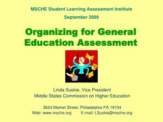 Organizing for General Education Assessment