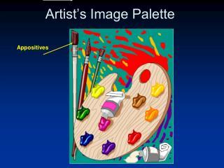Artist's Image Palette