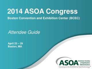 2014 ASOA Congress