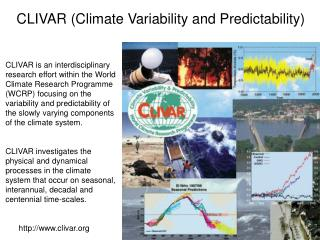 CLIVAR (Climate Variability and Predictability)