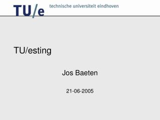 TU/esting