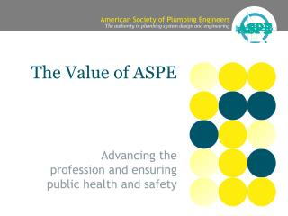 The Value of ASPE