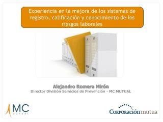 Experiencia en la mejora de los sistemas de registro, calificaci n y conocimiento de los riesgos laborales