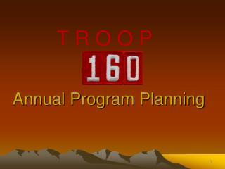 Annual Program Planning