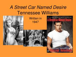 A Street Car Named Desire Tennessee Williams