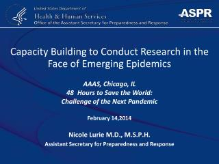 Capacity Building to Conduct Research in the Face of Emerging Epidemics