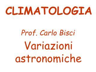 Variazioni astronomiche