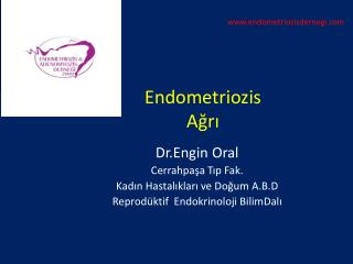 Endometriozis A ğrı