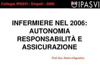Collegio IPASVI - Empoli - 2006