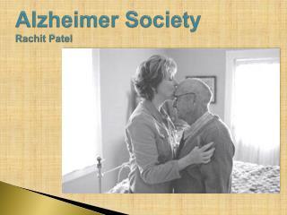 Alzheimer  Society Rachit  Patel