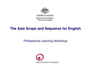The Asia Scope and Sequence for English
