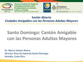 Sesión Abierta Ciudades Amigables con las Personas Adultas Mayores