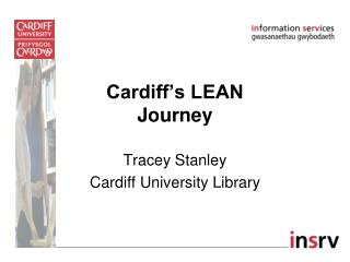 Cardiff's LEAN Journey