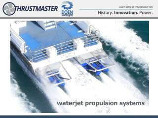 waterjet propulsion systems