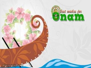 Happy Onam Festival !!