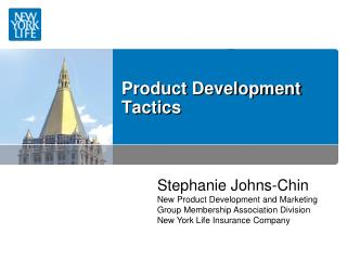 Product Development Tactics