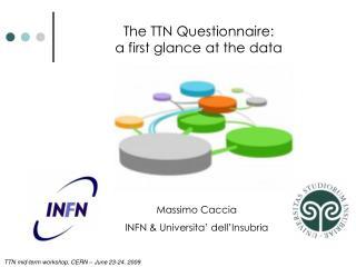 Massimo Caccia INFN & Universita' dell'Insubria