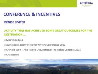 CONFERENCE & INCENTIVES
