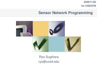 Sensor Network Programming