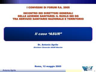 Roma, 12 maggio 2005