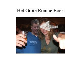 Het Grote Ronnie Boek