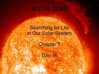 ASTR-3040